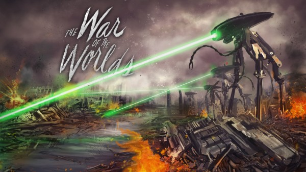 war of the worlds alien 1953. War of the Worlds game.