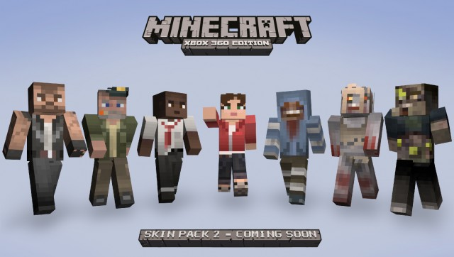 Minecraft Skins Pack Hits Friday | Xblafans
