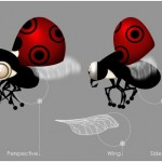 Flying Ladybug