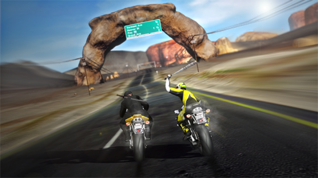 Road Redemption bat
