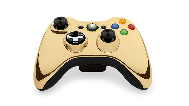 Xbox360_Chrome_Gold_Wireless_Controller