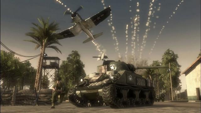Battlefield 1943 Tank and Plane