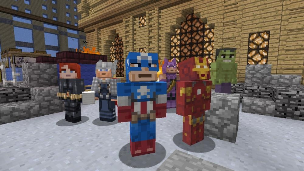minecraft marvel avengers