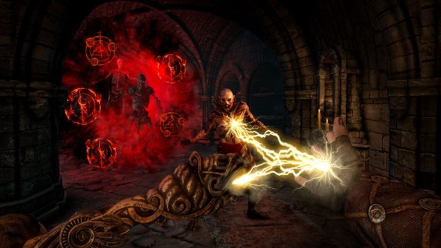 Hellraid spellcasting
