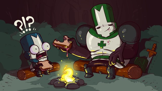 The Behemoth Castle Crashers Knights