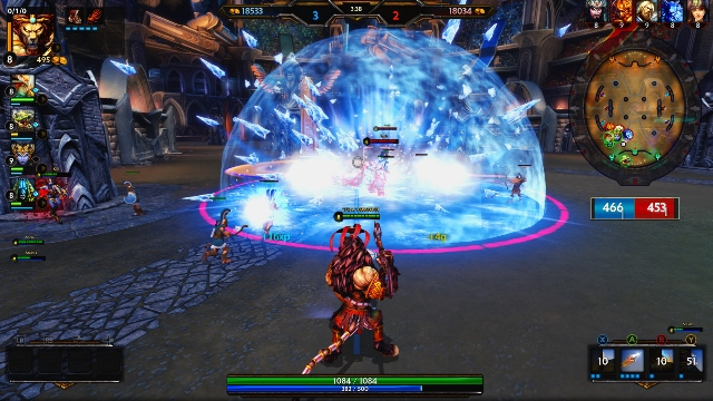 Smite Ice Attack on Xbox One