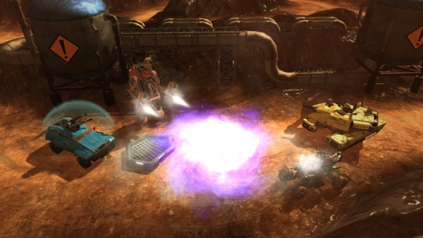 THQ Announces DLC for Red Faction: Battlegrounds
