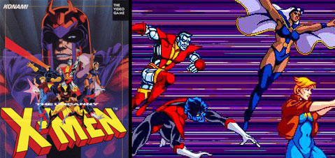 X-men Arcade Review (XBLA)