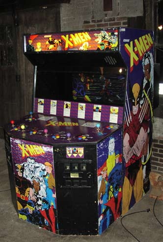 arcade men Control the actions of wolverine, use nightcrawler, and play as iceman to uncover the plot to eradicate mutants in x-men: the official game.