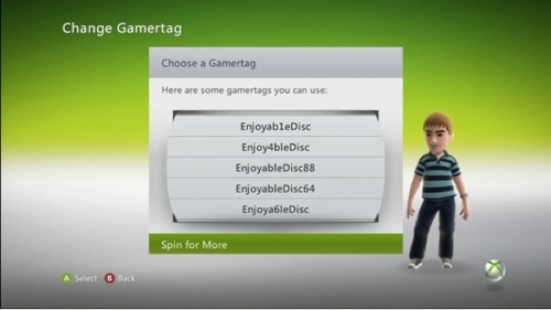 Change your gamertag for less