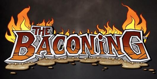 The Baconing logo