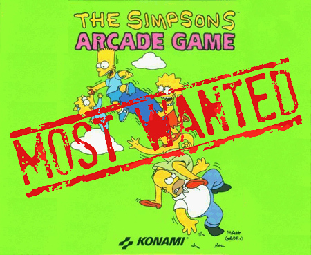 XBLA's Most Wanted: The Simpsons Arcade