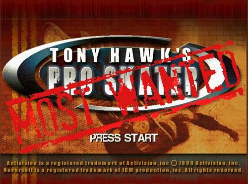 XBLA's Most Wanted: Tony Hawk's Pro Skater Arcade