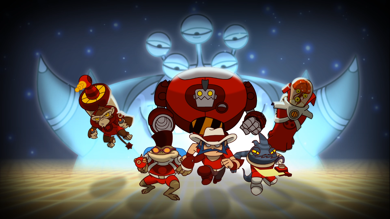 Awesomenauts announce and detail first Awesomenaut