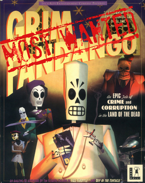 Grim-Fandango MostWanted