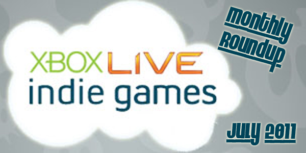 XBLIG Monthly Roundup: July 2011