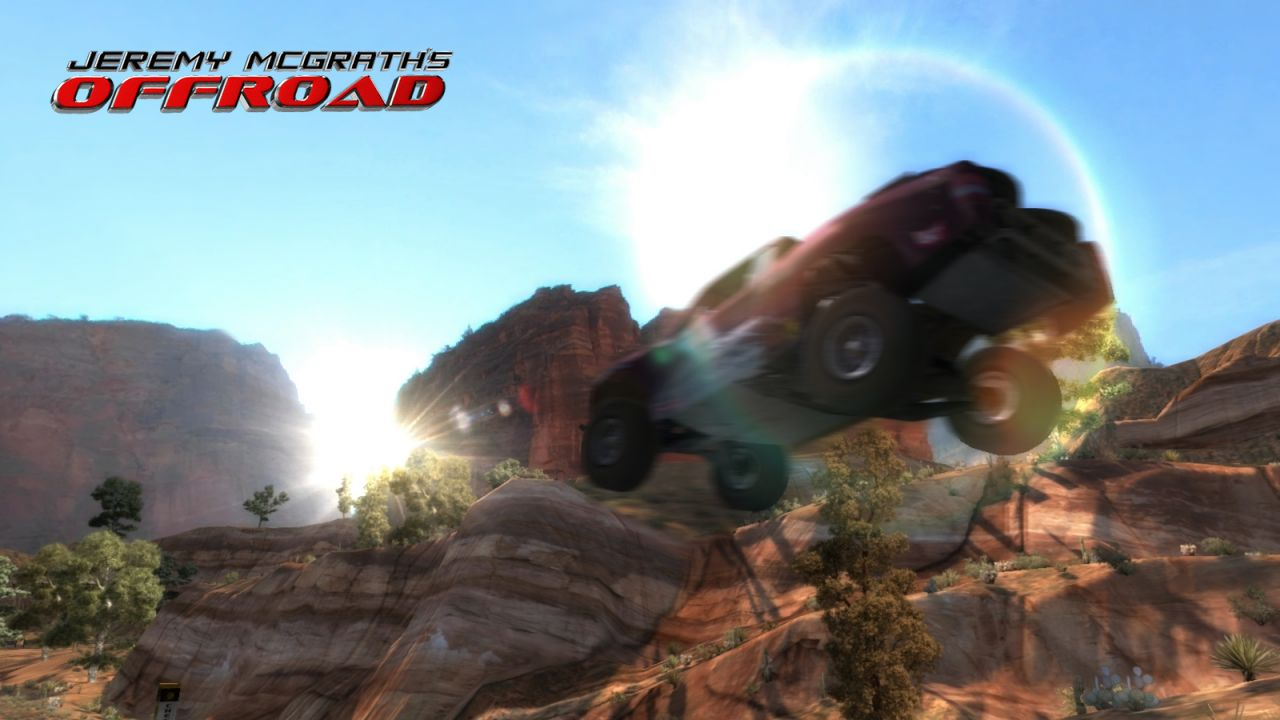 Jeremy McGrath's Offroad trailer and screenshots