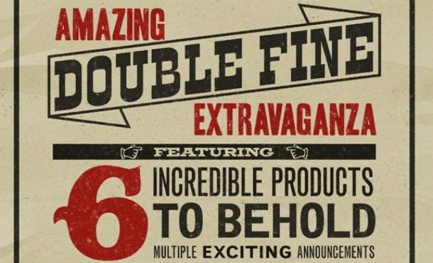 Double Fine set to make multiple announcements on Friday