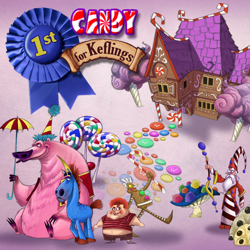 Candy's sweet tooth wins Kingdom of Keflings DLC contest