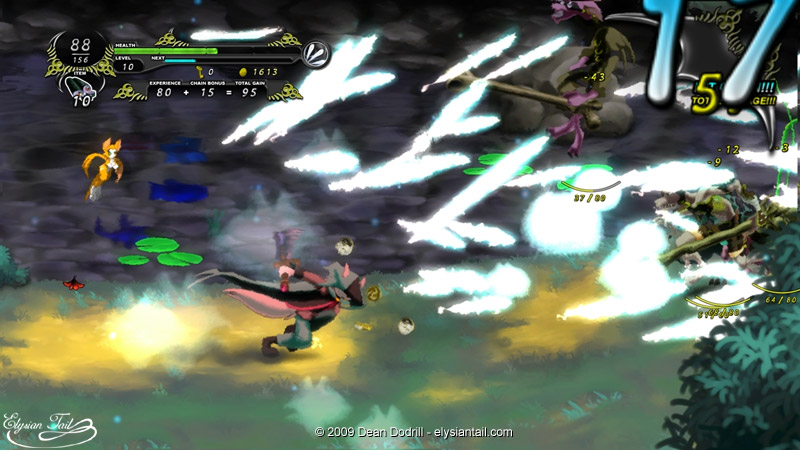 """Hand painted"" Dust: An Elysian Tail media emerges"