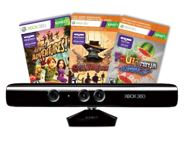 Kinect with three games on sale now for $99 at Amazon