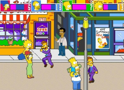 Simpsons Arcade Game releasing this Friday