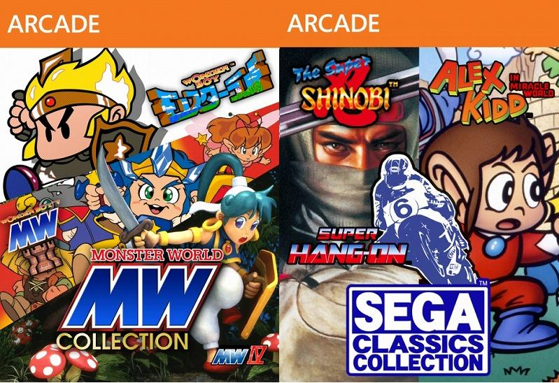 Sega Ages Online collections revealed