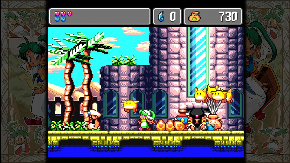 sega vintage collection monster world screen9