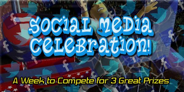 Contest: Social Media Celebration!