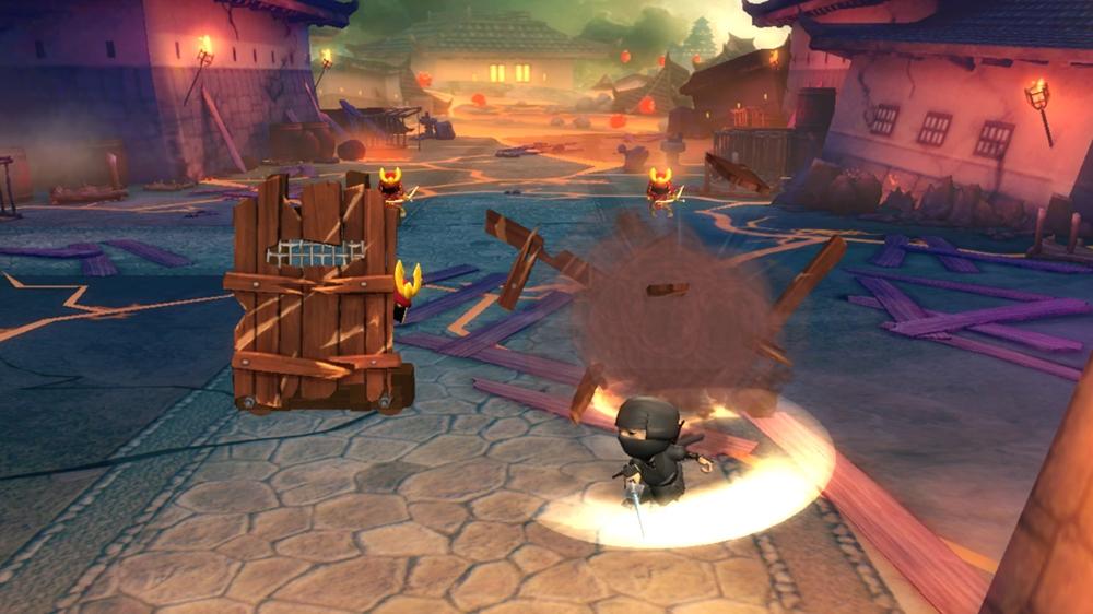 Mini Ninja Adventures Destroyed Village
