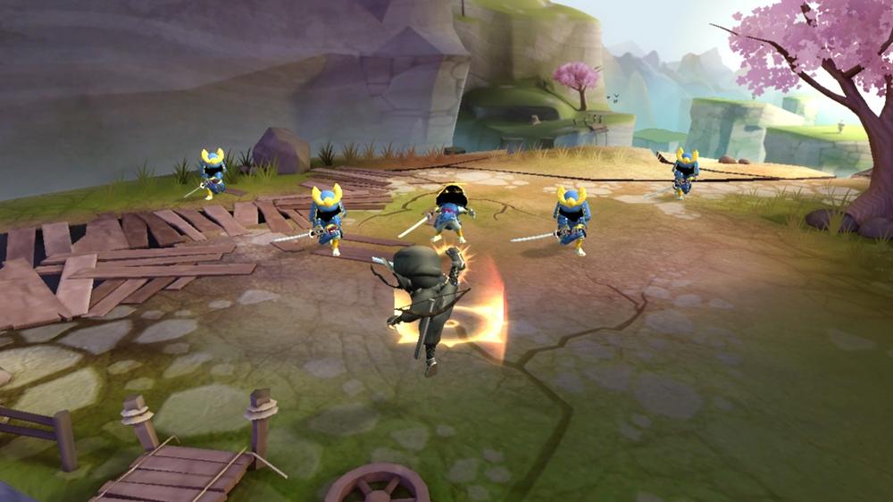Mini Ninja Adventures Kick