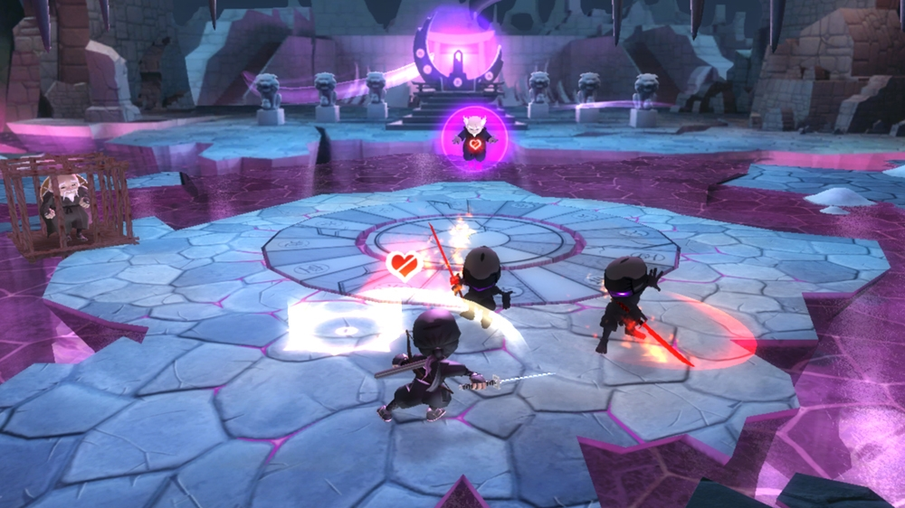 Mini Ninja Adventures Sword Fight