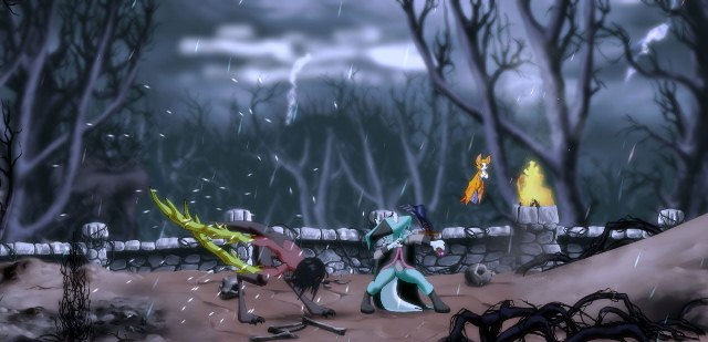 Dust: An Elysian Tail will feature casual and challenge modes