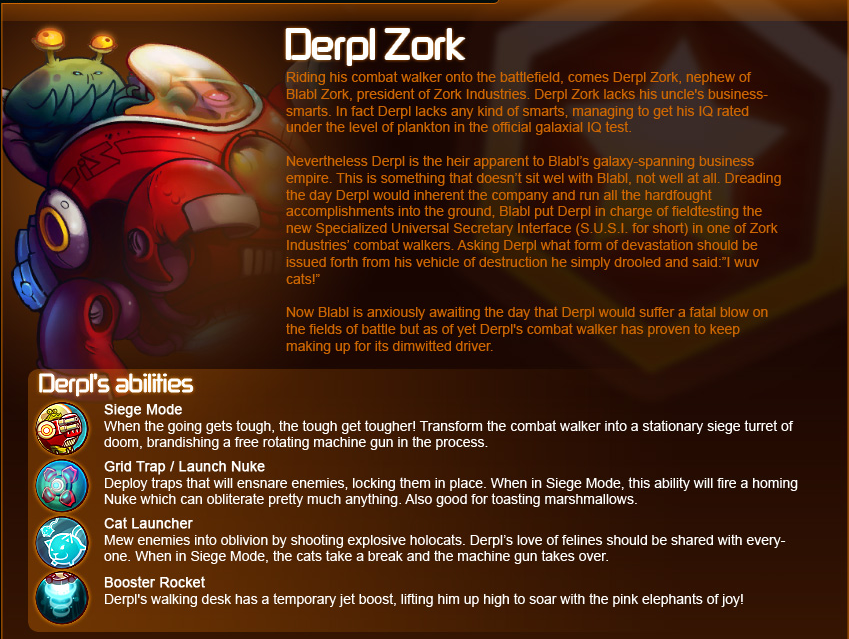 Awesomenauts Guide – Derpl Zork
