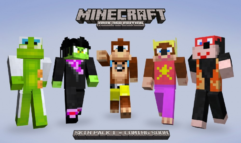 Minecraft update lands tomorrow, more skins detailed