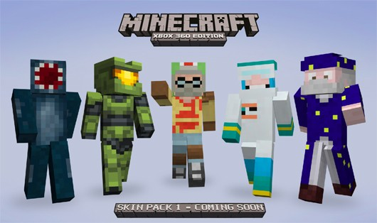 minecraft skin pack - master chief