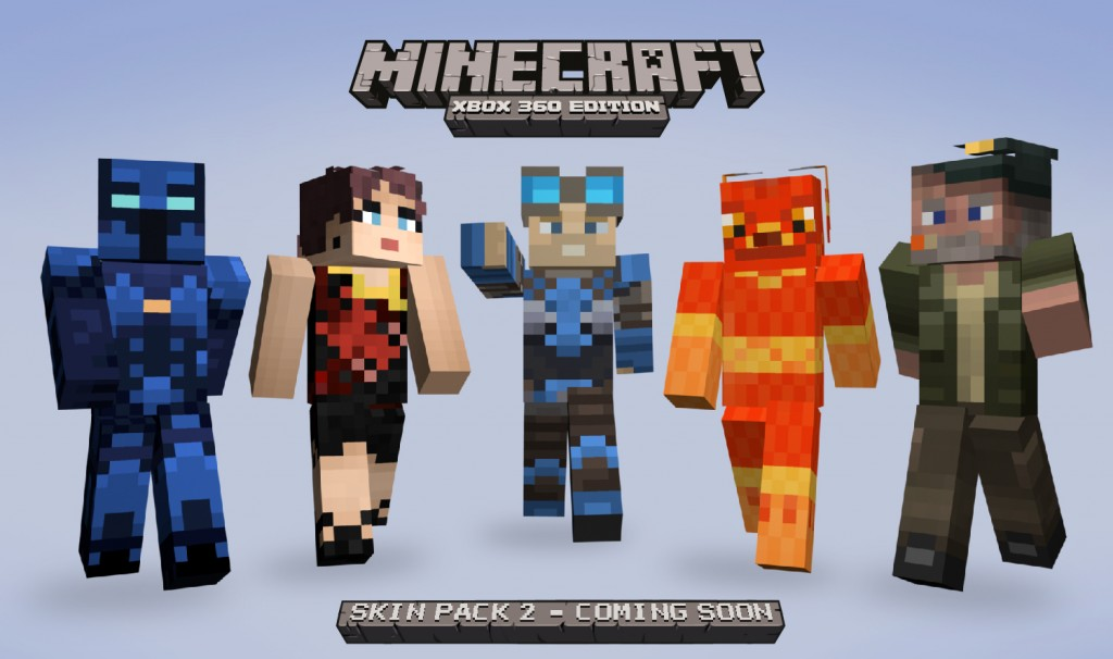 Second Skin Pack for Minecraft: Xbox 360 Edition coming soon