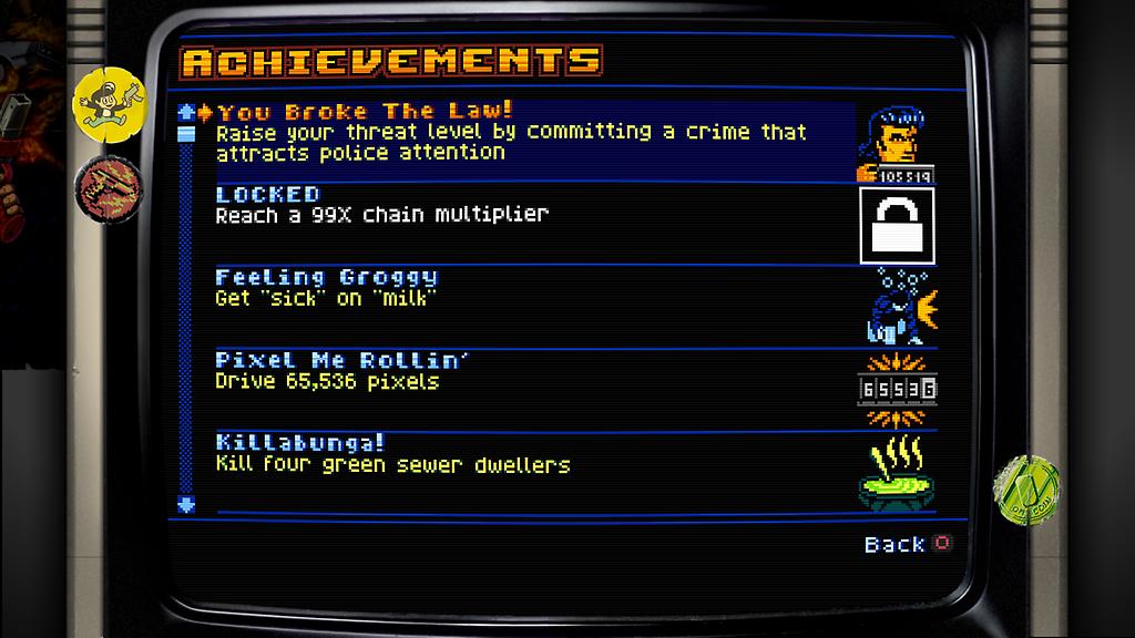 retroCR achievements