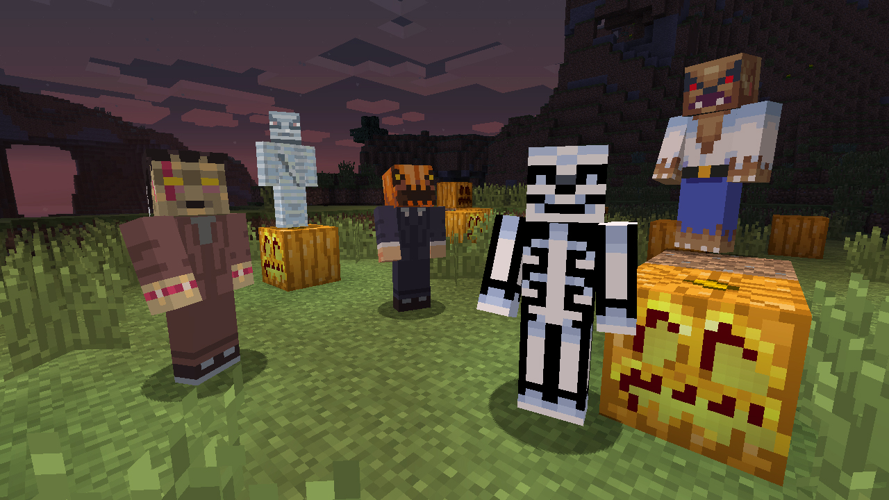 Last chance to own over 50 spooky Minecraft skins; support a great cause u2013 XBLAFans & Last chance to own over 50 spooky Minecraft skins; support a great ...