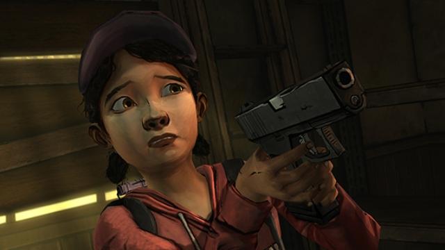 Clementine in The Walking Dead XBLA