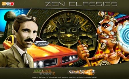 Final Zen Pinball tables come to Pinball FX 2 as Zen Classics Pack