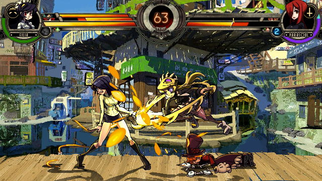 Sticks and stones couldn't break Skullgirls' bones