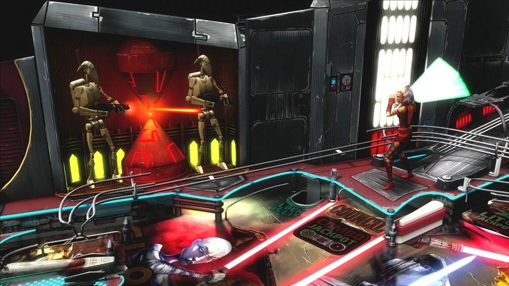 Star wars pinball clone wars