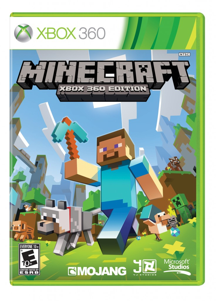 Minecraft on Xbox 360 releasing on retail disc April 30