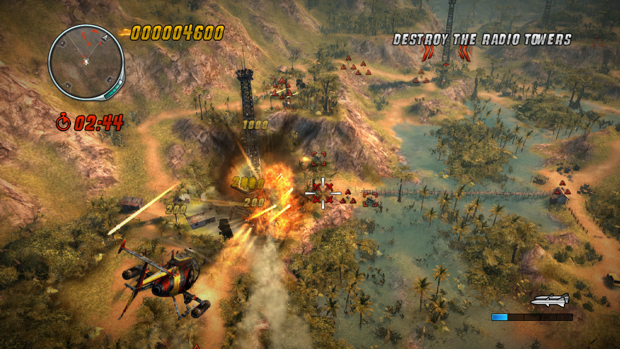Thunder Wolves locks on to XBLA with 3D helicopter warfare