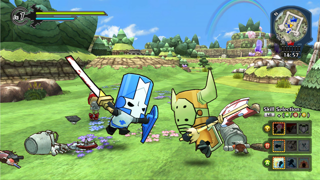 Happy Wars update enlists Castle Crashers