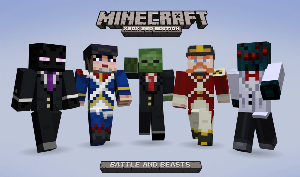 Minecraft: Xbox 360 Edition 1.73 title update adds customizable skins