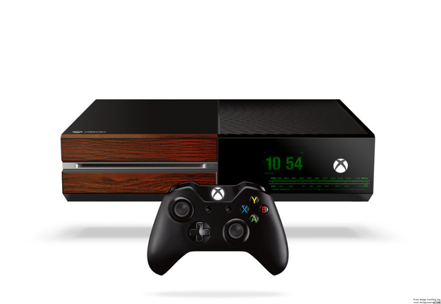 The Xbox One looks great as an 80s alarm clock