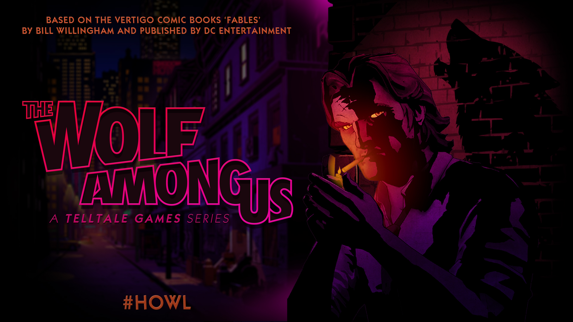 Trailer for The Wolf Among Us