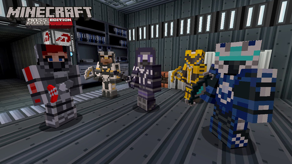 Minecraft-Mass-effect-edition